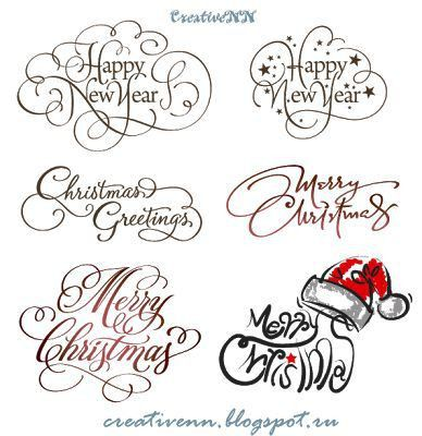 82 best Xmas Sentiments and Fonts images on Pinterest | Christmas ...