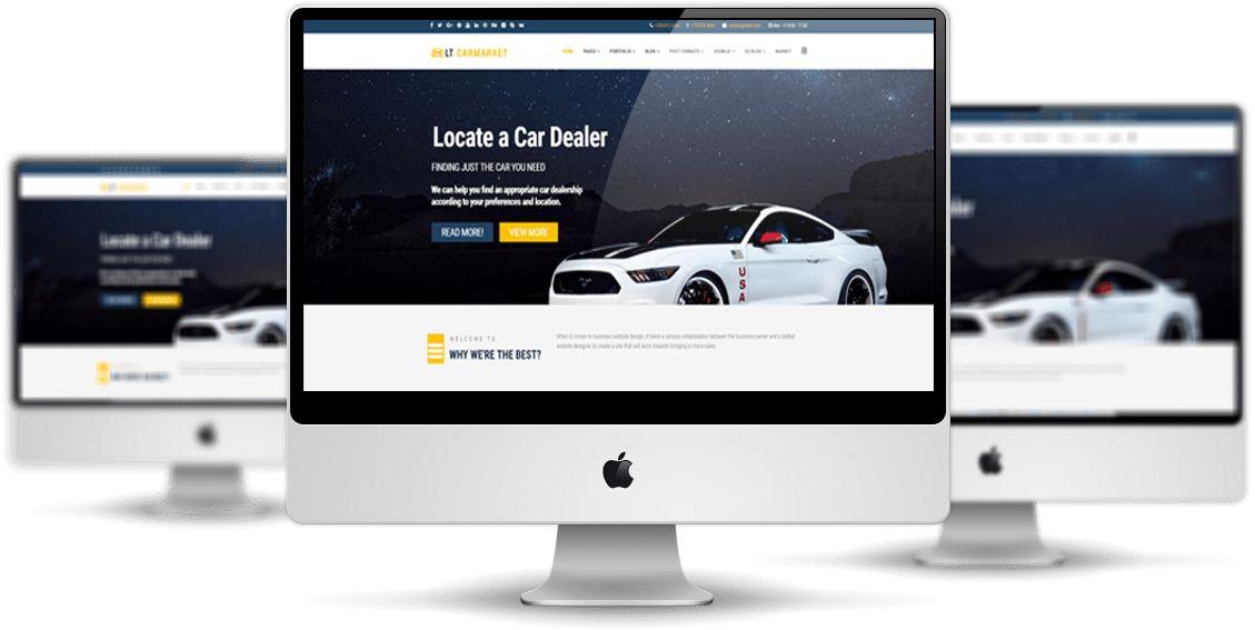 LT Carmarket – Free Joomla Car For Sale template