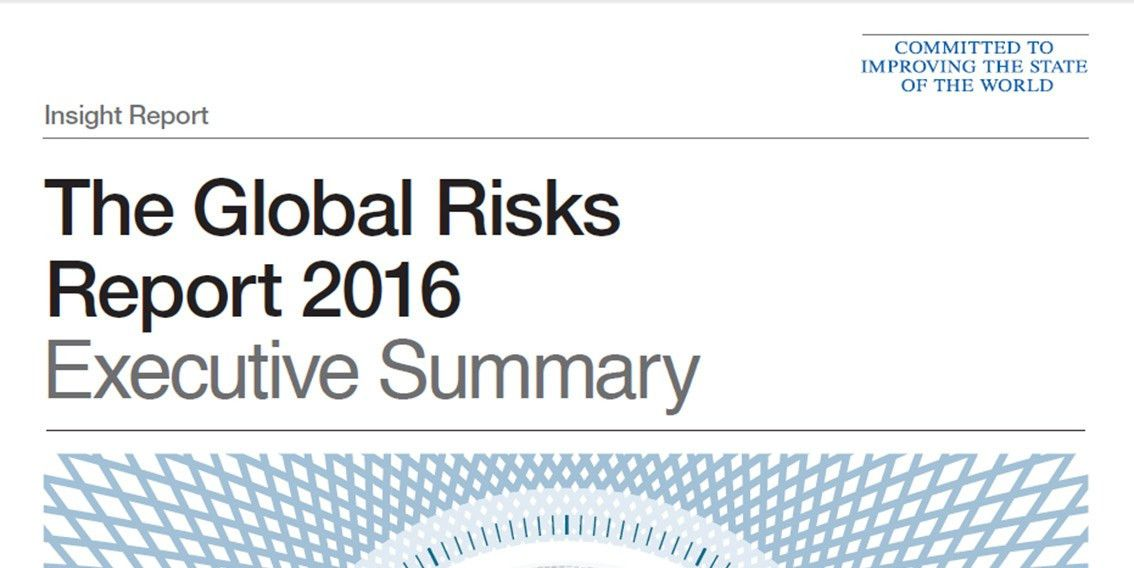 The Global Risks Report 2016 Executive Summary | Articles ...