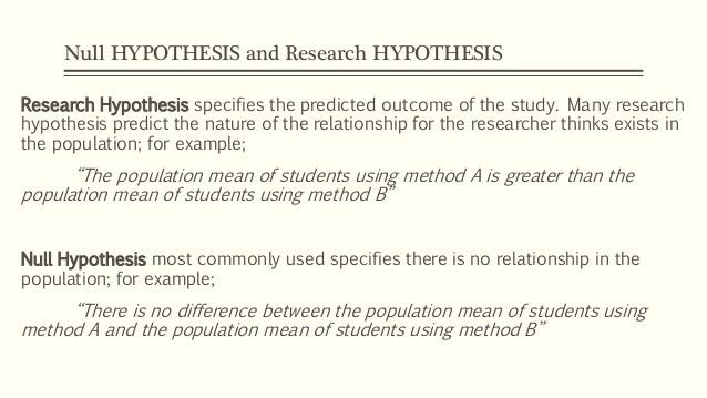 Hypothesis Testing. Inferential Statistics pt. 2