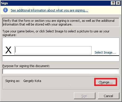 Digital Signature Support in InfoPath 2010 – Microsoft InfoPath 2010