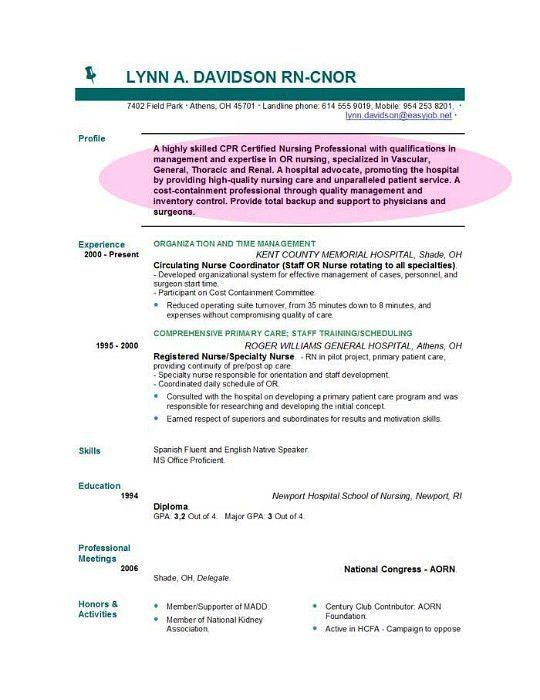 Executive Resume Accountant Resume For Non Profit With Objective ...