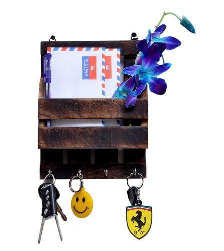 Wooden Letter & Key Holder at Rs 200 /piece(s) | Lakdi Ka Chabi ...