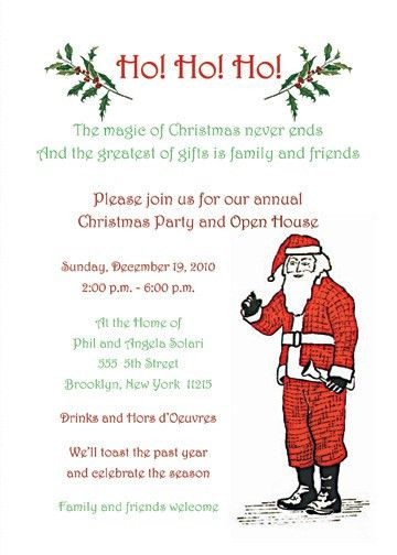 Christmas Party Invitations & Christmas Party Invitation Templates
