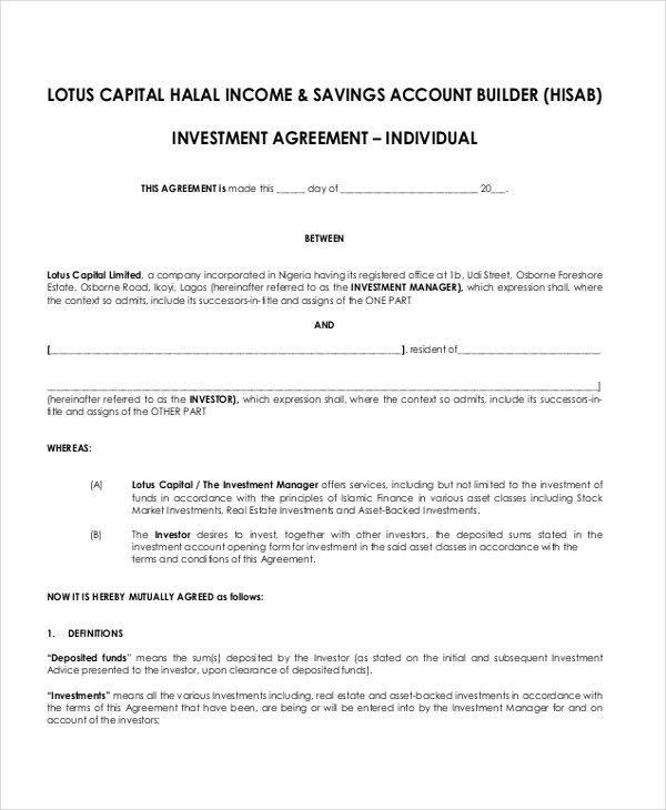43+ Basic Agreement Forms | Free & Premium Templates