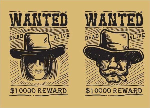 9+ Printable Wanted Posters - Free PSD, Vector, EPS Format ...