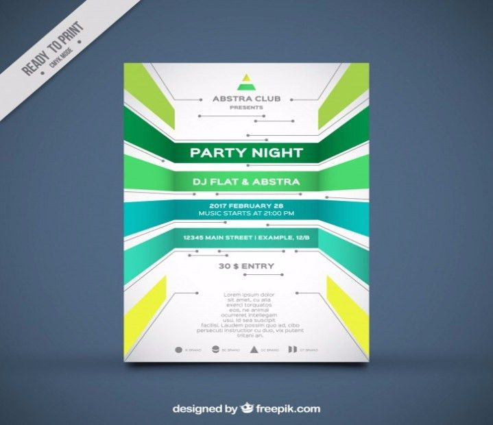 summer seasonal event flyer word format download. free religious ...