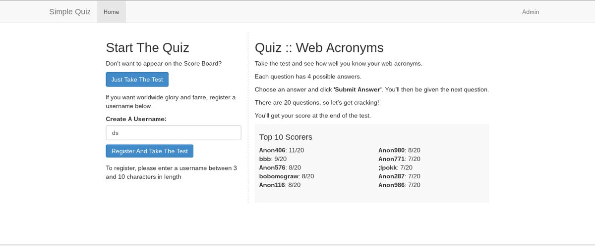 simple-quiz download | SourceForge.net