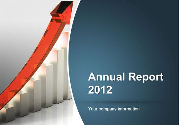 presentation report template how to make an annual report using ...