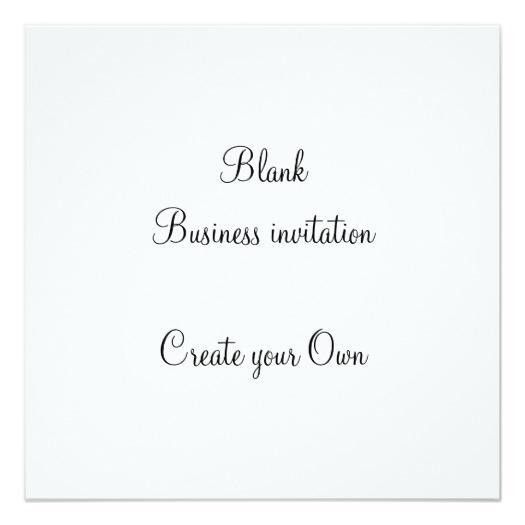 Blank Invitation | Fitness Business Cards
