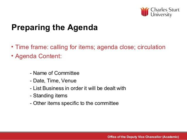 Meeting Preparation and Minute Taking - Clare Jonker