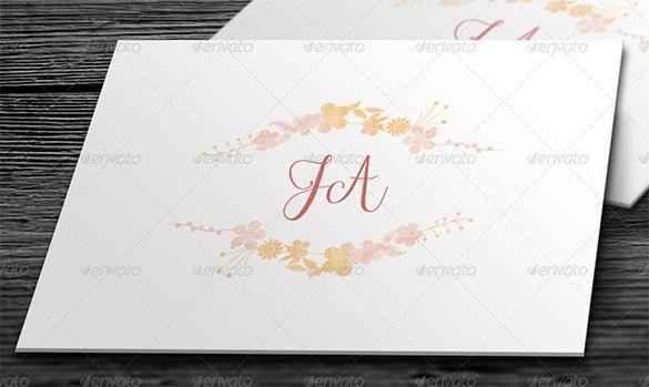 Wedding Card Envelope Templates – 21+ Free Printable Word, PDF ...