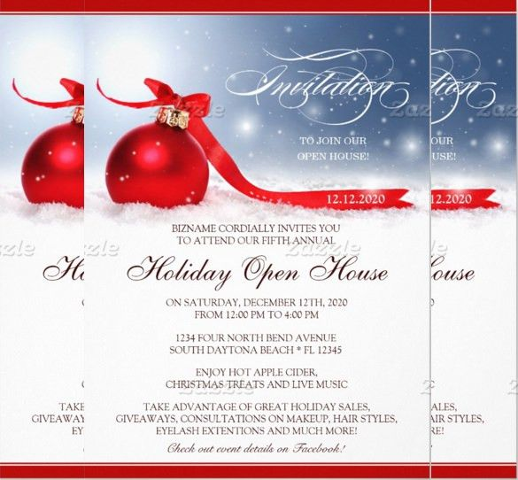 Holiday Flyer Template Example 2. Holiday Party Event Flyer ...