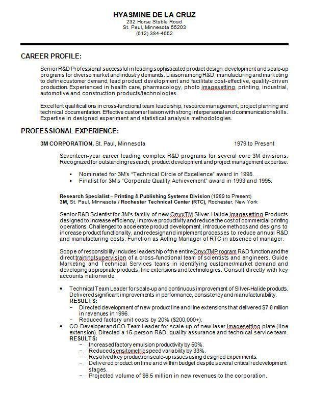 Best 25+ Professional resume format ideas on Pinterest | Format ...