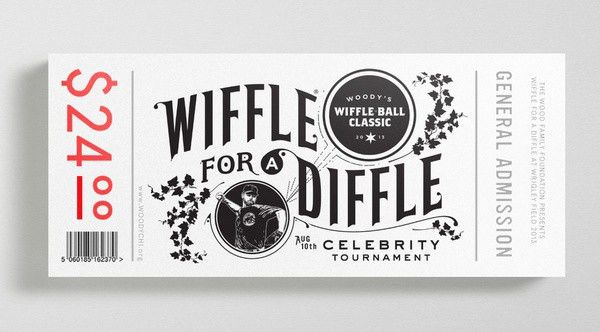 40 Ticket Designs That Will Inspire You | | Inspirationfeed