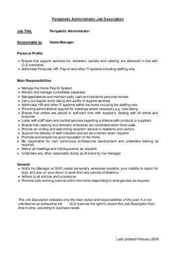 Payroll Manager Job Description. Ja Biztown Job Descriptions Job ...