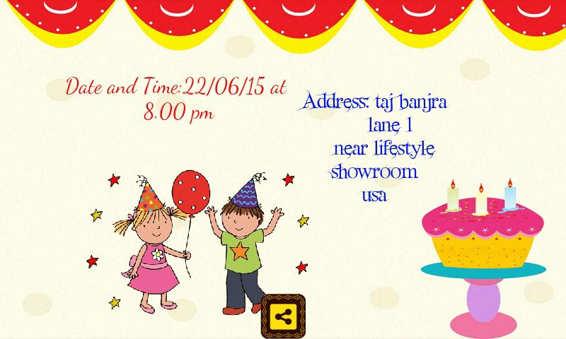 simple modern bday invitation cards marvelous designing template ...