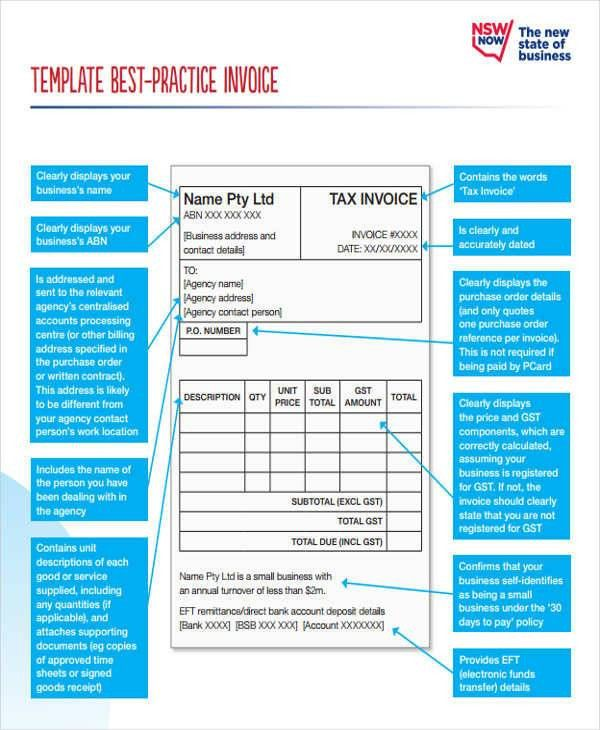 10 Business Invoice – Free Sample, Example, Format Download