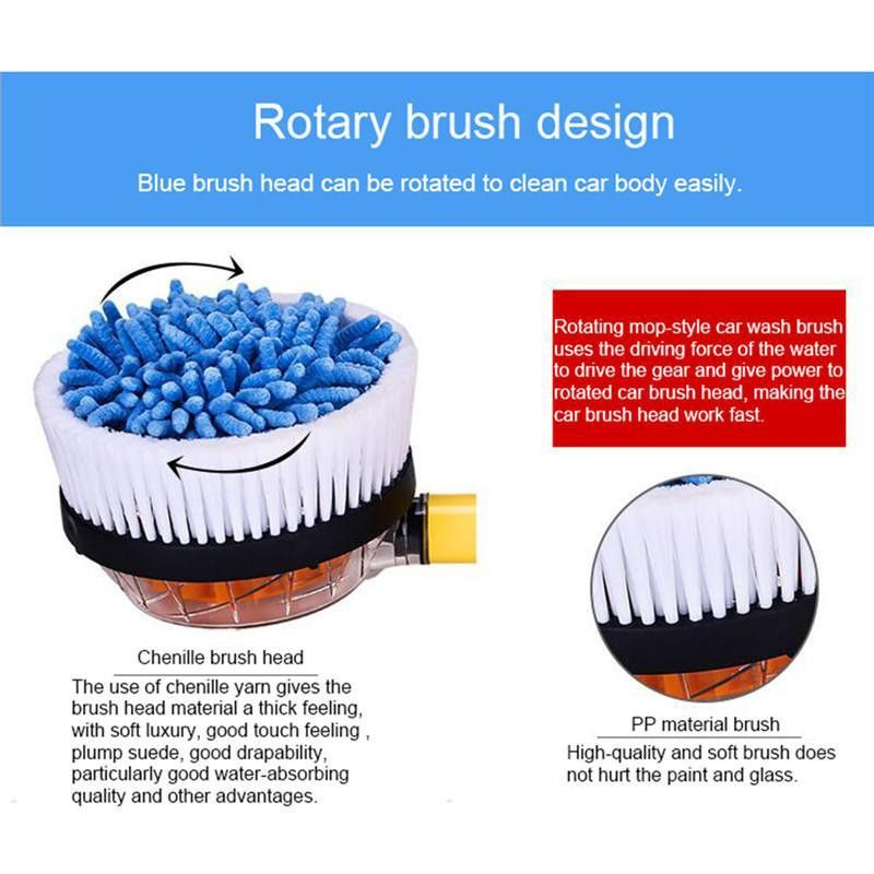 Wash Switch Water Flow Foam Brush Portable Car Washer Automatic ...