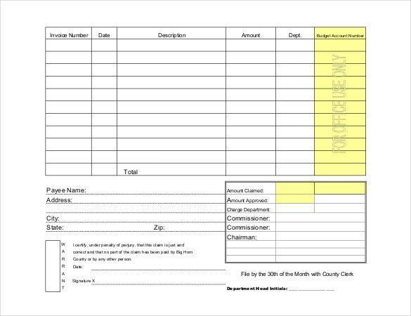 Blank Voucher Template - Voucher Templates | Free & Premium Templates