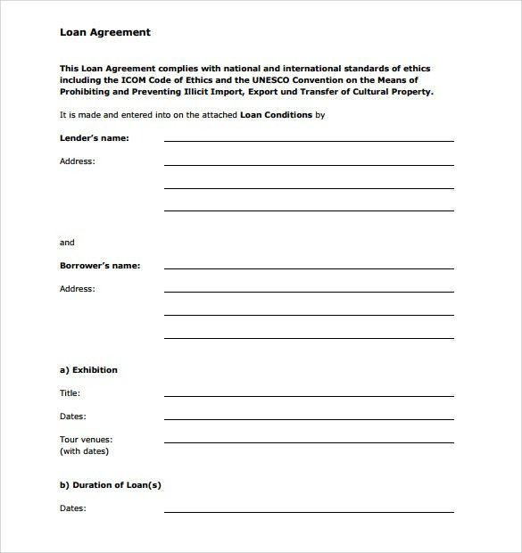 Nice Loan Application Form And Template Sample : vlashed