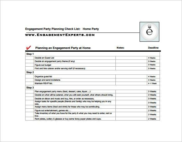 10+ Party Planning Templates – Free Sample, Example, Format ...