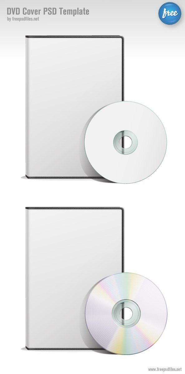 DVD Cover PSD Template, vector images - 365PSD.com