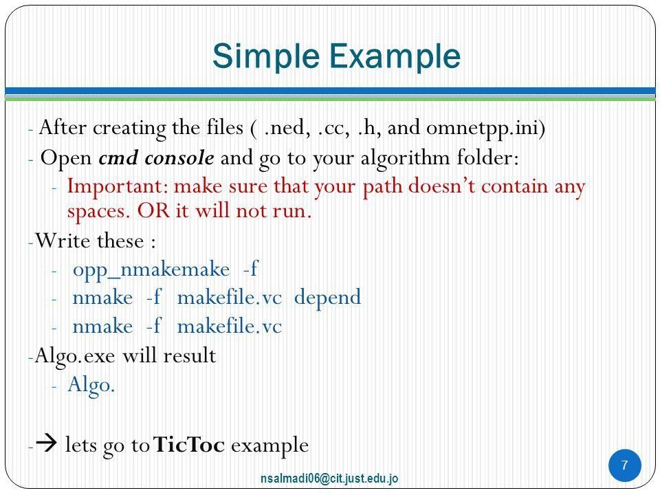Introduction to OMNeT++ - ppt download