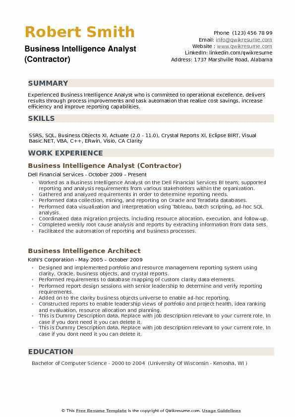 business objects resume sample business objects resume sample