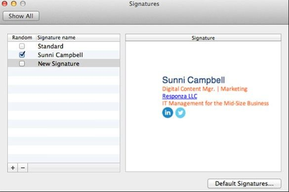 12+ Outlook Email Signature Templates – Samples, Examples ...