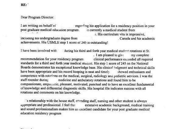 letter of recommendation for ms formatletter of recommendation ...