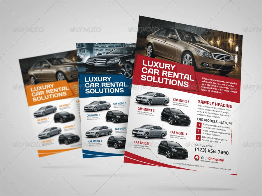 Automotive Car Sale Rental Flyer Ad v3 by Jbn-Comilla | GraphicRiver