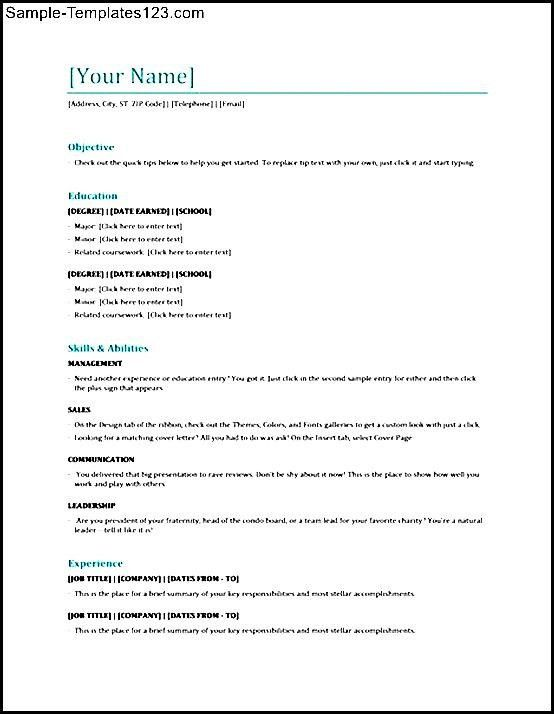 unforgettable esthetician resume examples to stand out