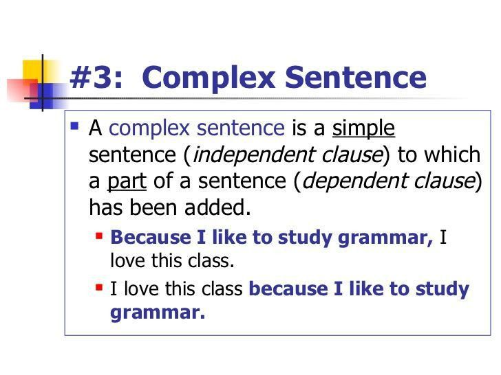 Best 20+ Complex sentences ideas on Pinterest | Grammar, Grammar ...