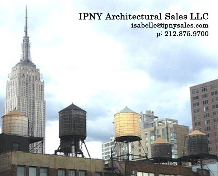 ipny architectural metals - isabelle paez new york - archictural sales