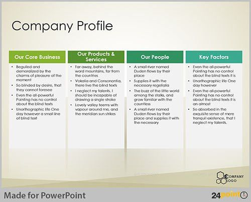 company profile powerpoint presentation template stock powerpoint ...