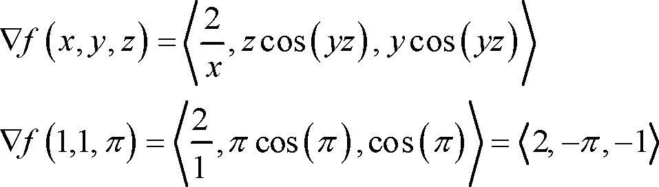 Calculus III - Directional Derivatives
