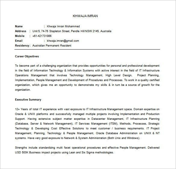 Manager Resume Word. Program Manager Resume Template Sample ...