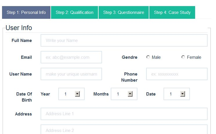 Bootstrap Form Example] How To Create Form Layouts With Bootstrap ...