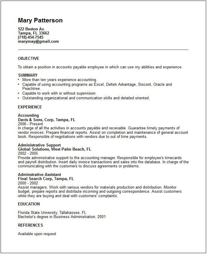 Captivating Resume Skills Examples
