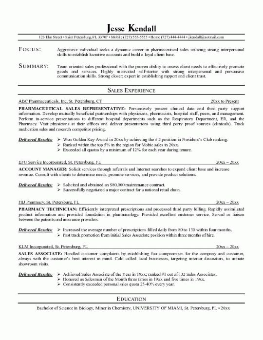 Medical Resume | Free Resumes Tips