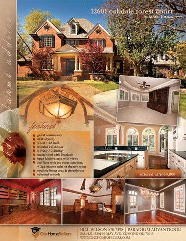 Real Estate Property Marketing Plan To Sell Your Oklahoma City ...
