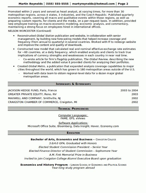 Free Fund Manager Resume Writer for 2016 | RecentResumes.com