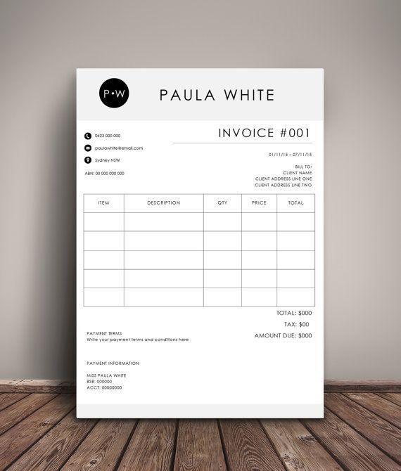 Best 25+ Invoice template ideas on Pinterest | Invoice layout ...