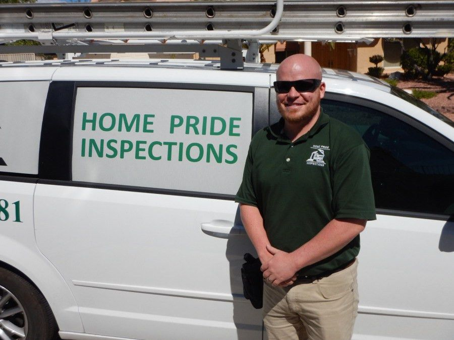 Las Vegas Home Inspectors, Henderson Home Inspections inspecting ...