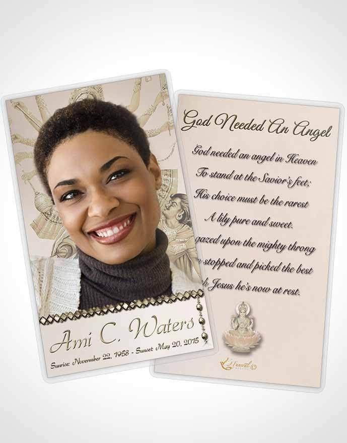 Funeral Cards Template - Contegri.com