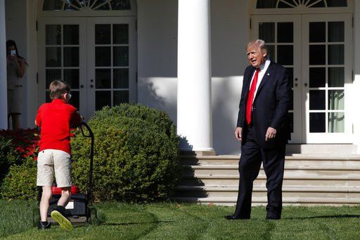 11-year-old boy gets lawn-mowing gig at White House | WKBN.com