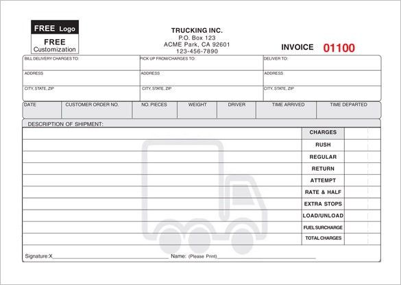 Delivery Receipt Template – 10+ Free Sample, Example, Format ...