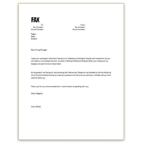 Examples Of Cover Letter For Resume. Cover Letter Examples For ...