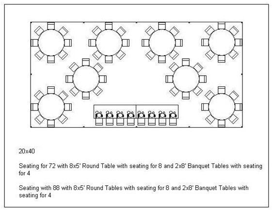 Sample Chart Templates » Dinner Seating Chart Template - Free ...